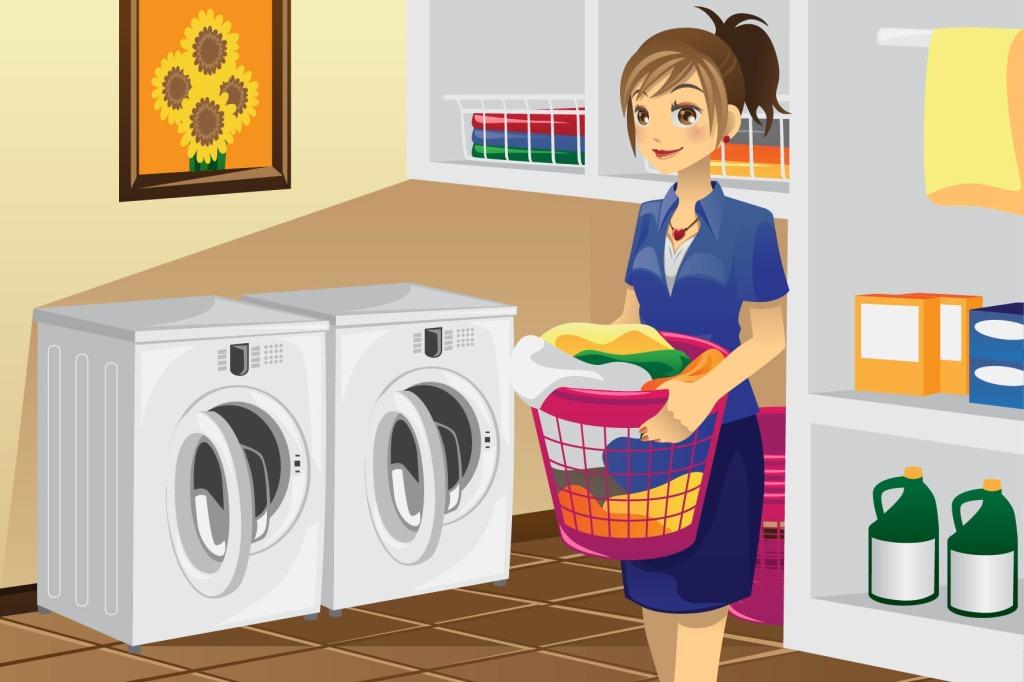 共享洗衣平台教您晒衣防皱法